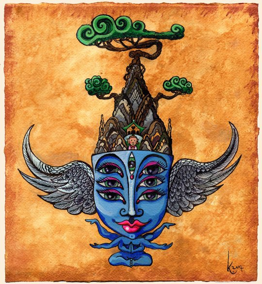 Blue Temple Spirit