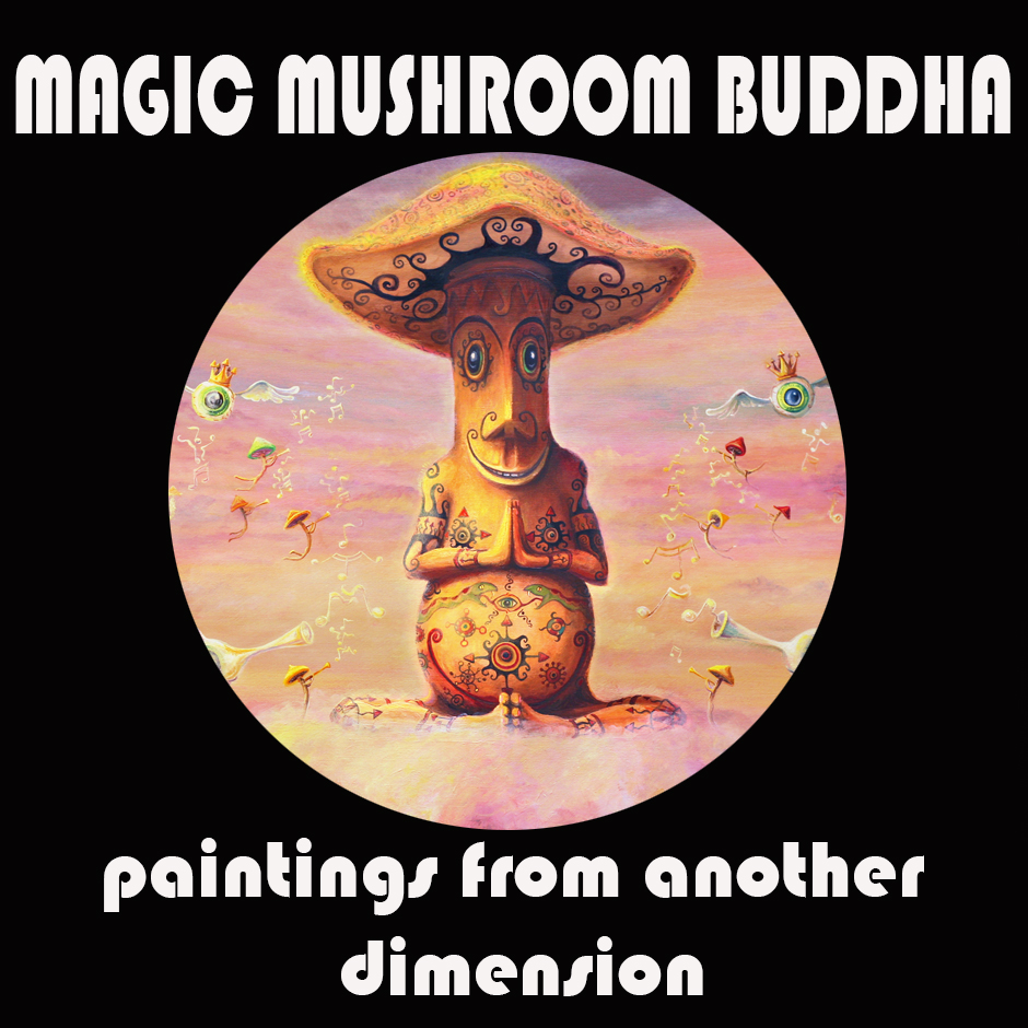 Magic Mushroom Buddha